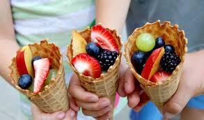 fruta sorvete