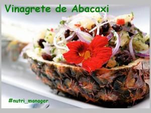 Vinagrete de Abacaxi